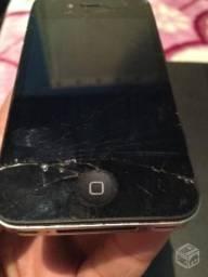 Iphone 4 com defeito para retirada de peças