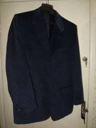 Blazer masculino veludo cotele linha italiana decinel