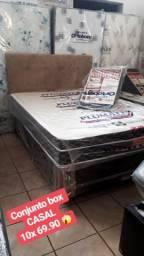 Cama box CASAL MOLAS NOVA