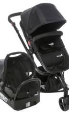 Carrinho c/bebê conforto Safety First + BRINDE