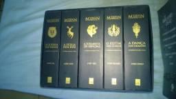 Box Game of thrones Edição Colecionador, Box The Walkind Dead, Gramática Evanildo Bechara