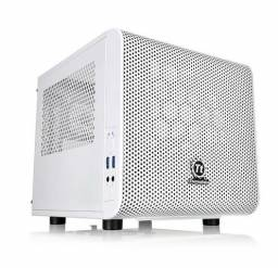 Gabinete Thermaltake Snow Edition Mini ITX usb 3.0 Fan 200mm