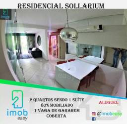 Alugo lindo Solarium 2 quartos mobiliado (parque das laranjeiras)