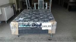 Cama box casal nova $ 249,99 a vista !