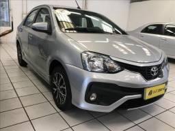TOYOTA ETIOS 1.5 PLATINUM 16V FLEX 4P AUTOMÁTICO - 2018