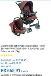 Carrinho/Bebê conforto