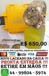 Relógio Invicta Pro Driver Dourado Masculino - 0074