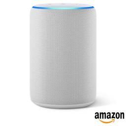 Caixa Smart Speaker Amazon Echo Com Alexa Branco