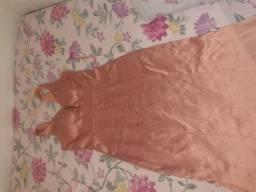 Vestido rosê, nunca usado.