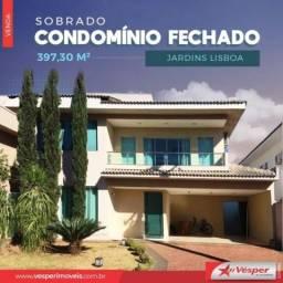 Casa de condomínio à venda com 3 dormitórios em Jardins lisboa, Goiânia cod:CH2887