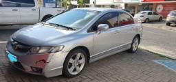 Vendo Honda Civic LXS 2007 automático com ar trava alarme direção hidráulica - 2007