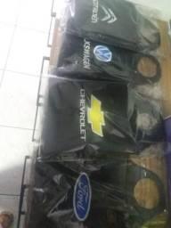 Saco de lixo para carro com a logo marca novo na embalagem