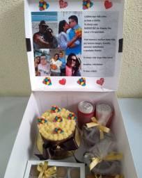 Caixa mini dia dos pais R$80