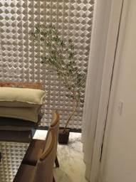 Bambu mosso com folhas artificiais 2,50m