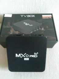 Tv box na caixa