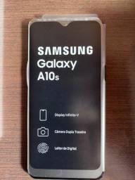 Smartphone Samsung Galaxy A10s Azul novo - na caixa - nunca usado