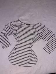 Camisa de manga comprida.