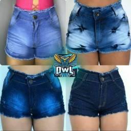 Short Jeans 17,00 (a pronta entrega)