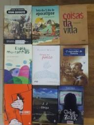 Livros literários usados