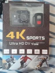 Câmera 4k sports nova na caixa