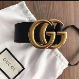 Título do anúncio: Cinto Gucci fivela em 18k