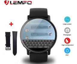 Título do anúncio: Relógio Smartwatch Masculino Lemfo X Wifi Monitor Cardíaco