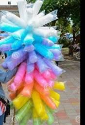 Balões e algodão doce