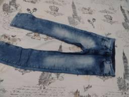 Calça jeans tamanho 16