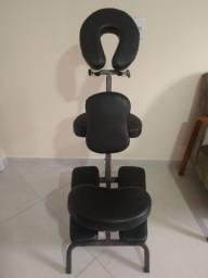 Cadeira De Massagem Quick Massage Shiatsu Dobrável Portátil