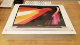 """Título do anúncio: Macbook Pro 16"""" i7 16Gb SSD 512Gb AMD Radeon Pro 5300M [LACRADO e GARANTIA]"""