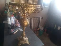 Abajur de Bronze de 40 cm