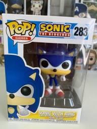 Título do anúncio: Funko pop! Sonic with ring #283 Novo original