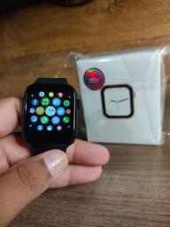 Título do anúncio: Smartwatch x8 preto+ pulseira extra e capa de silicone