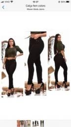 Calças preta feminina luxoo Numeração 46
