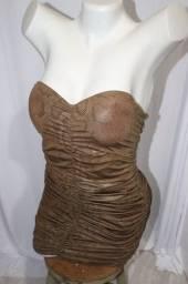 Vestido de festa cobra - Usado