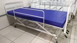 Cama Hospitalar com Elevação de Altura (Entregue)