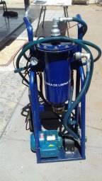 Carrinho para transferências e filtragens de óleo diesel