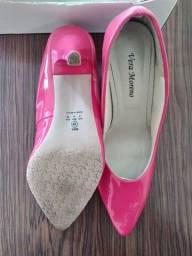 Sapato Scarpin Rosa