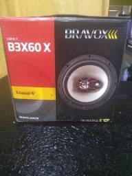 """Título do anúncio: Kit triaxial 6"""" Bravox"""