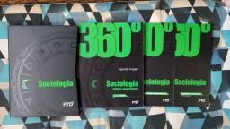 Livros didáticos de Sociologia FTD 360°