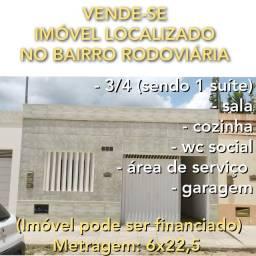 VENDE-SE LINDO IMÓVEL NO BAIRRO DA RODOVIÁRIA