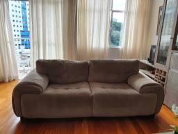 Conjunto de sofá, com 02 e 03 lugares