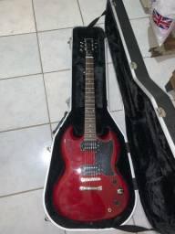 Guitarra Epiphone modelo SG com Case