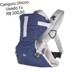 Título do anúncio: Canguru Chicco usado apenas uma vez.