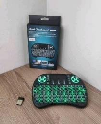 Teclado Led USB para Box Smartv Computador