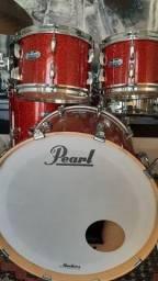Título do anúncio: Vendo a última e melhor evolução da bateria Pearl Master Maple NOVA!!