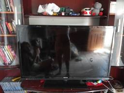 Tv semp 40 polegadas tela escura