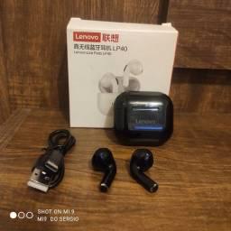 Título do anúncio: Fone de ouvido lenovo LP40 Bluetooth In-ear otimo volume com microfone e comandos