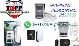 Interfone residencial varias marcas instalado a partir de R$380,00!