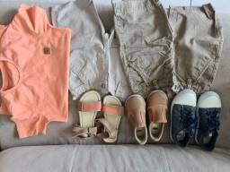 Título do anúncio: Kit roupas e sapato